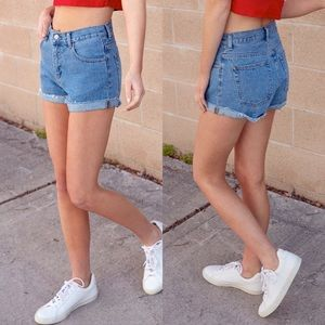NWT Brandy Melville High Waisted Denim Shorts